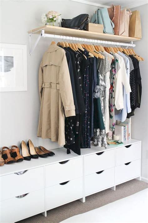 Affordable Wardrobe Closet by Affordable Diy Small Space Apartment Storage Ideas 12