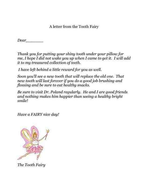 cute tooth fairy letters kittybabylovecom