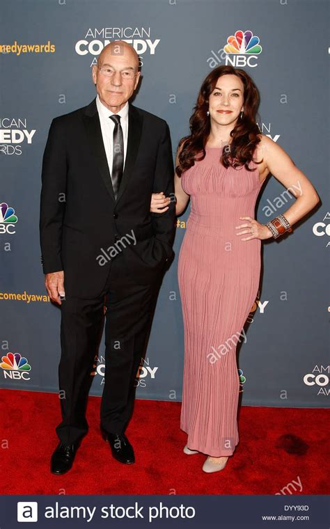 patrick stewart wife photo actor patrick stewart and wife sunny ozell attend the