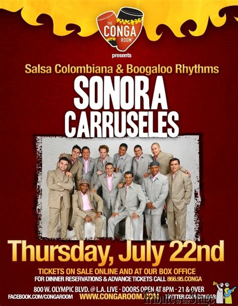 sonora carruseles live at the conga room in downtown la