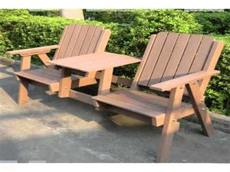 wood plastic composite benches  paint youtube
