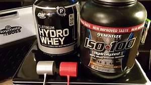 Hydrolyzed Whey Protein Comparison - Hydro Whey Vs Iso 100