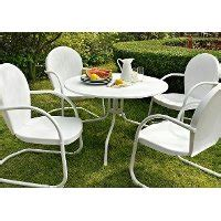 crosley 5 metal outdoor dining set rc willey