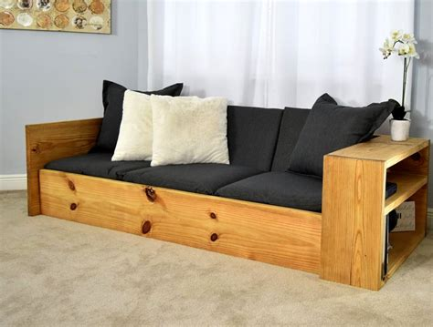 Diy Sleeper Sofa by How To Build Space Saving Sofa Bed For 150