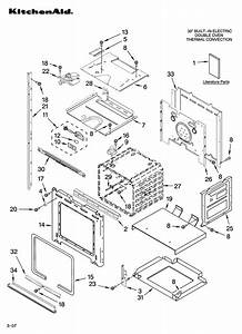Kitchenaid Kebs208sss00 Electric Wall Oven Parts