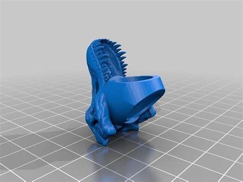 rex ring remix   model  printable stl cgtradercom