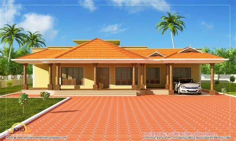 home floor designs single floor ranch style homes kerala single floor home