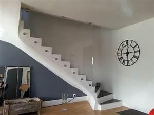 Rampe D Escalier Moderne : cuisine lovely la rampe d 39 escalier tenir la rampe d 39 escalier hauteur de la rampe d 39 escalier ~ Melissatoandfro.com Idées de Décoration