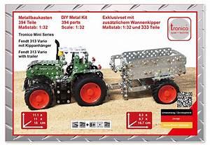 Fendt Traktor Preise : rcee tronico metallbaukasten traktor fendt 313 vario mit ~ Kayakingforconservation.com Haus und Dekorationen