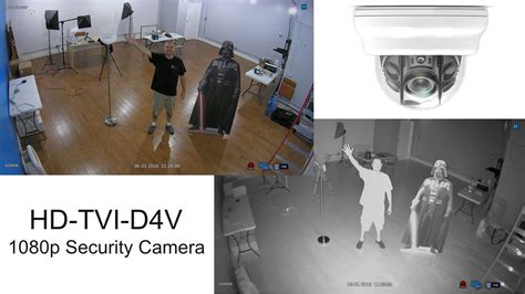 Hd-tvi Security Camera 1080p Infrared Video Surveillance