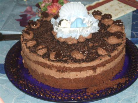 d 233 coration gateau mousse au chocolat