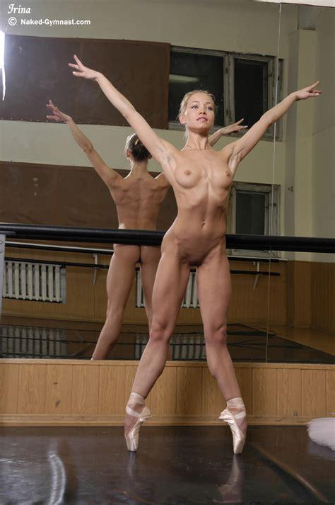 Flexible Ballerina Irina Goes Thru Her Dancing Routine All