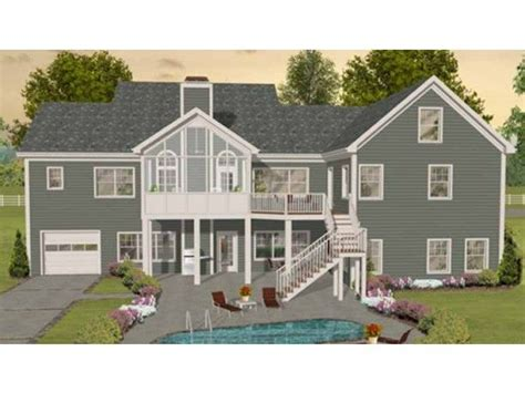 Delightful Craftsman House Plans With Walkout Basement by The Idea Of Using Part Of A Walkout Basement As A