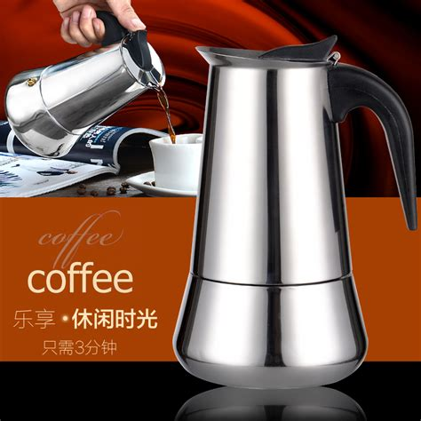 1pc stainless steel moka pot 1 5 cups espresso maker coffee pot for stove induction cookern for