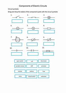 Circuit Symbols Interactive Worksheet