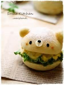 Cute Bear Kawaii Food