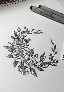 Flowers Sketch Circle 41  Ideas For 2019  Flowers