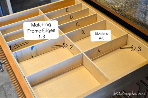 how to make drawer dividers easy diy wood drawer dividers