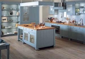Bleu De Travail Castorama : cuisine ouverte sur le salon toutes les solutions maison ~ Dailycaller-alerts.com Idées de Décoration