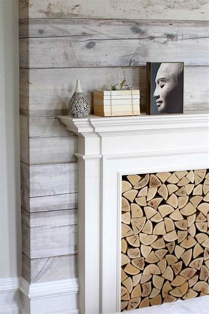 Accent Wall Wood Living Bedroom Walls Plank