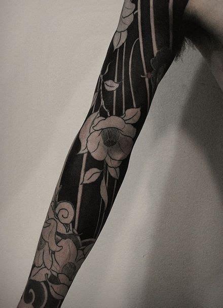 Negative Space Tattoo Ink