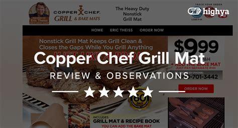 copper chef grill mat reviews    scam  legit