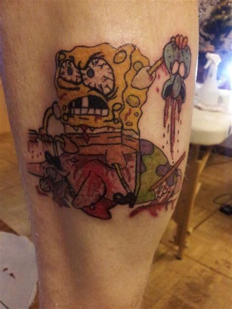 bunny spongebob tattoos von tattoo bewertungde