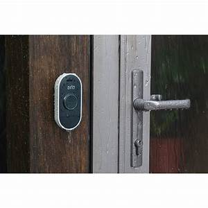 Arlo Audio Doorbell  White  Aad1001-100nas