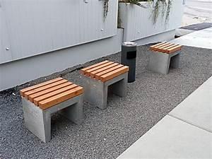 Betonsteine Selber Machen : beton bank mit holz 062629 eine ~ Michelbontemps.com Haus und Dekorationen