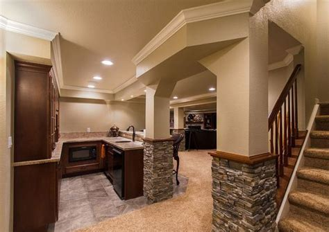 Finished Basement Ideas (Cool Basements)   Basements
