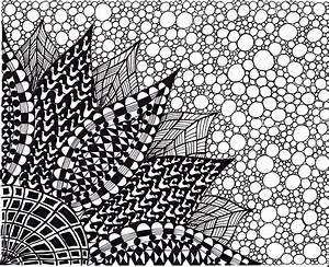 Abstract Art Black And White - wallpaper.