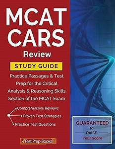 Free Download  Pdf  Mcat Cars Review Study Guide Practice