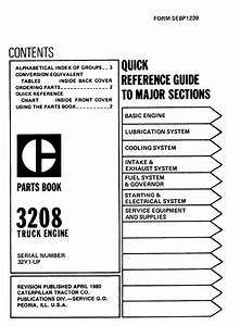 Photo  3208 Parts Manual Pagina 001