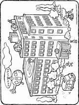 Krankenhaus Hospital Ziekenhuis Ausmalbilder Colouring Kiddicolour Kleurplaat Drawing Kleurplaten Kostenlos Playmobil Colorear Kiddimalseite Tekening Malvorlagen Zum Kleurprent 01h Dibujo Malvorlage sketch template
