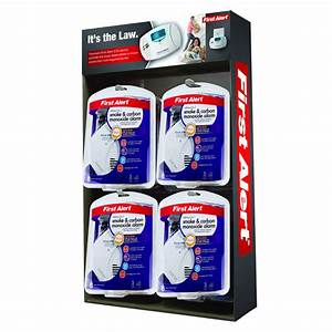 First Alert Sco7cn Battery Operated Combination Smoke And