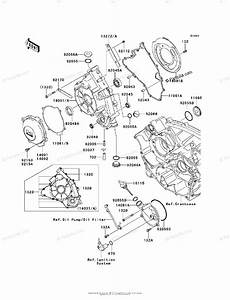 Kawasaki Side By Side 2010 Oem Parts Diagram For Engine