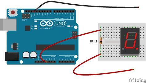 How Set Segment Displays The Arduino Circuit