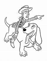 Toy Coloring Story Pages Woody Printable Sheets Boys sketch template