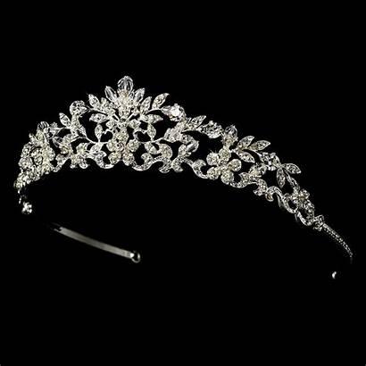 Swarovski Tiara Crystal Bridal Hp Silver Tiaras