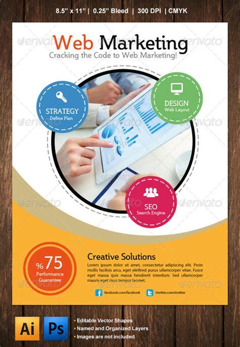 marketing flyer template 21 marketing flyer templates sle templates