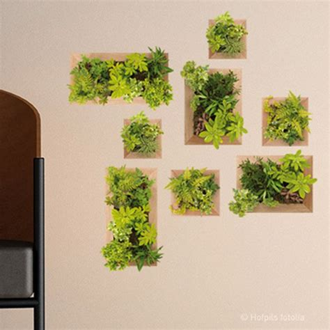 sticker jardin vertical 21 cm x 29 7 cm leroy merlin
