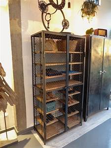 Armoire Industrielle Vintage : armoire industrielle vintage vous ~ Teatrodelosmanantiales.com Idées de Décoration