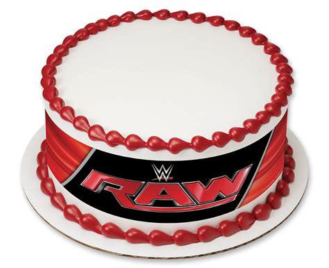 wwe raw logo photocake 174 cake cakes com