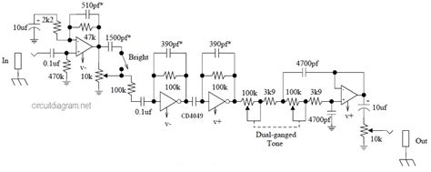 Guitar Effects Category Page Circuit Schematic