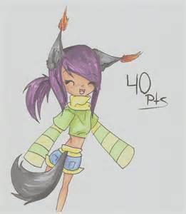 Chibi Wolf Girl