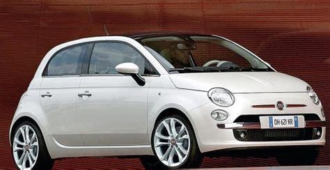 4 Door Fiat 500 I Love Compact Cars-susie Kue