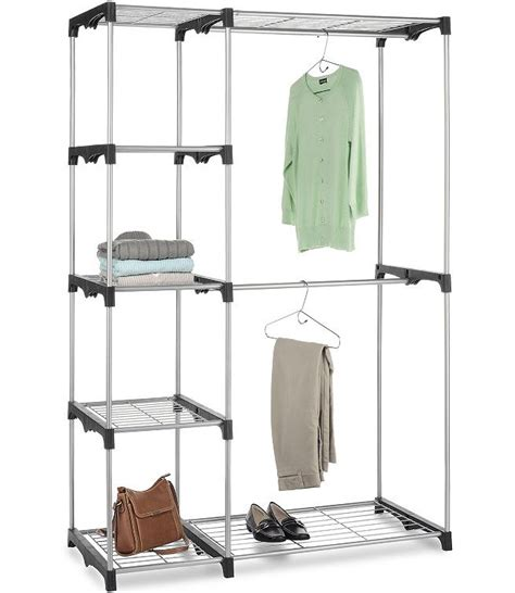 free standing closet organizer in clothing racks and wardrobes