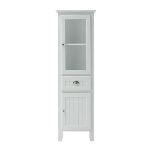home depot white storage cabinets home decorators collection ridgemore 20 in w x 65 in h x