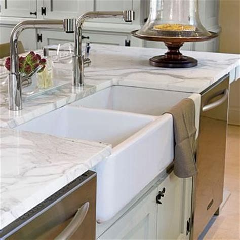 kitchen island with farmhouse sink two bowl sink farmhouse sinks with vintage charm 8248