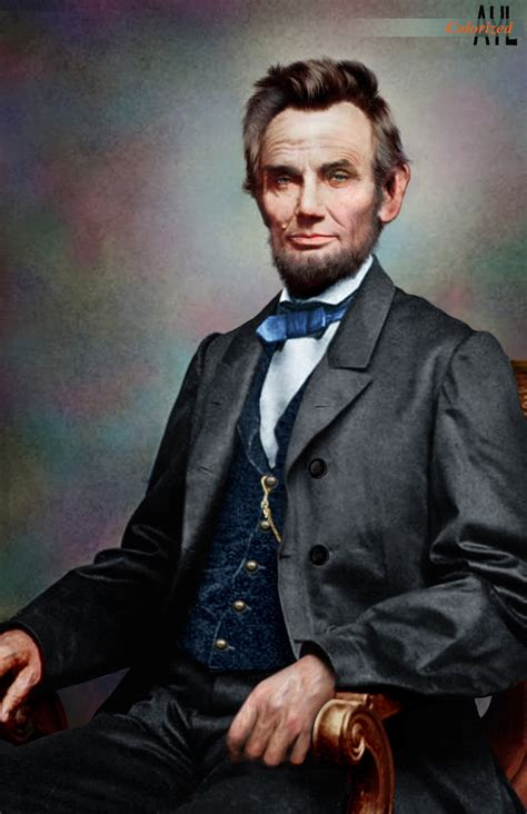 Colors for a Bygone Era: Colorized Abe Lincoln from a ...